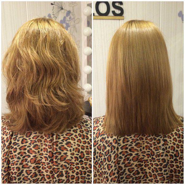 Как делается ботокс волос
