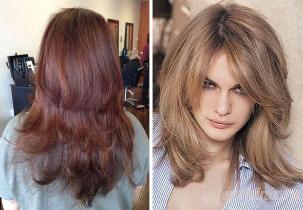 какие стрижки на длинные волосы