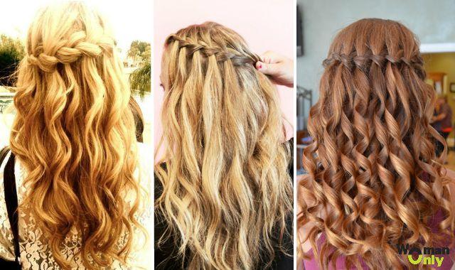 Красивые прически на средние волосы с кудрями фото