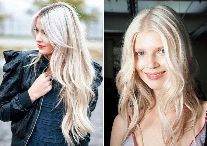 Как убрать желтизну с волос народными методами 638