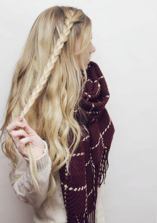 Красивая прическа на длинные волосы за 5 минут