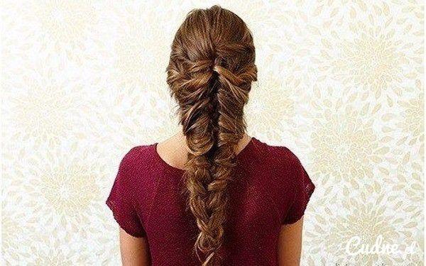 Прическа для девочки на длинные волосы из кос своими руками фото 108