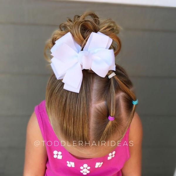 Фото причесок с хвостиками для детей