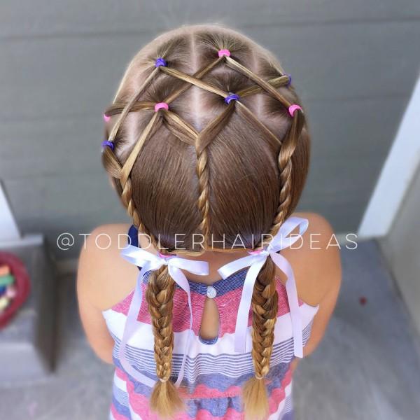 Косички на волосы фото и схемы плетения для девочек