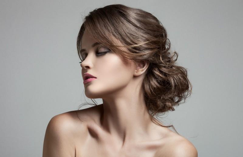 Прическа для жидких волосы своими руками