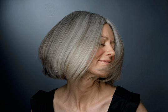 Басма покрасить волосы седые