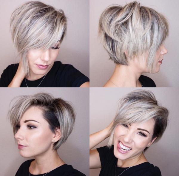 Креативные и оригинальные стрижки для коротких волос